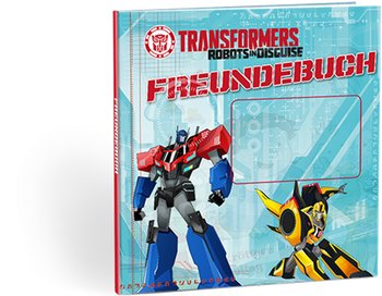 Transformers Freundebuch