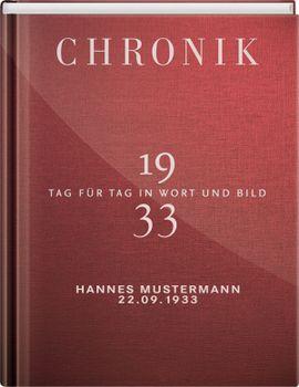 Jubiläumschronik 1933