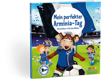 Personalisiertes Arminia-Buch