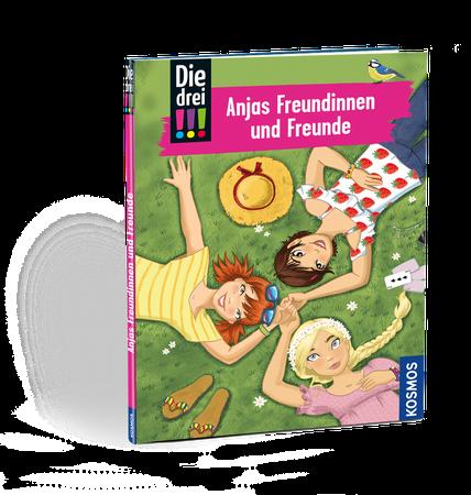 Die drei !!! - Freundebuch